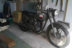 Matchless g3l owned by Mr John Johnson