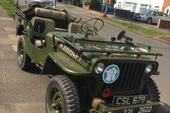French M201 Jeep