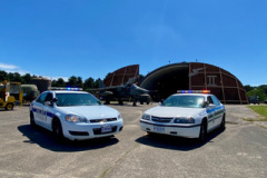 2004 Chevrolet Impala USAF ex-RAF Lakenheath and 2008 Chevrolet Impala USAF police ex-RAF Lakenheath 48th Security Forces in current livery.Owner Liam Doyle.