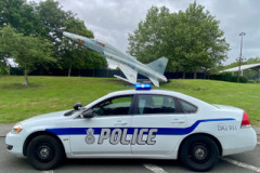 2008 Chevrolet Impala USAF police ex-RAF Lakenheath 48th Security Forces in current livery.Owner Liam Doyle.